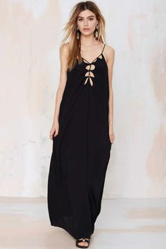 All Tied Down Maxi Dress