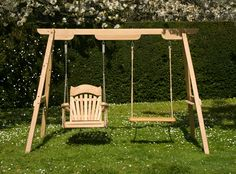 The Trilogy - One frame, three seats, a whole new experience: Buy Wooden Rope Swings and Garden Swing Seats at Sitting Spiritually.co.uk