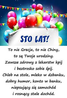 Życzy Iza i Andrzej Birthday Quotes, Birthday Wishes, Free Happy Birthday Cards, Special Quotes, Great Words, Man Humor, Motto, The Funny, Favorite Quotes
