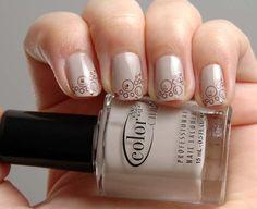 Accurate nails, Beautiful nails 2016, Beige gel polish, Beige nails 2016, Delicate beige nails, Pastel nails, Spring nail art, Spring nail designs