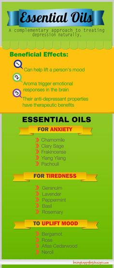 Using essential oils for depression treatment is among the many complementary approaches to treating depression naturally. Nowadays, more and more people prefer to look for a natural depression treatment rather than... http://beinghappybydesign.com/depression-treatment/essential-oils-for-depression-treatment