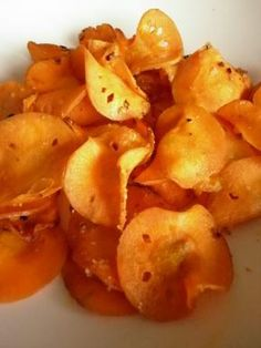 Carrot chips - recipe with picture - Carrot chips -