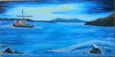 Aurica Boboescu Sailing Ships, Boat, Painting, Dinghy, Painting Art, Boats, Paintings, Painted Canvas, Sailboat