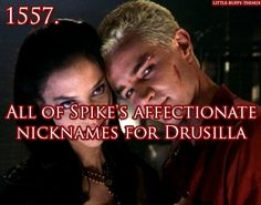 Spike and Drusilla from Buffy the Vampire Slayer.