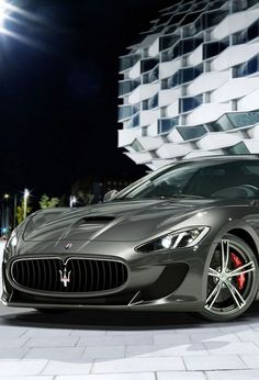 Maserati Granturismo MC Stradale. This will work nicely for ME!