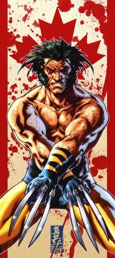 Wolverine | By: Mark Brooks, via Cruzine