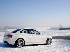 The Alpine White 120d was also outfitted with a set of Beyern BMW Wheels that match the European character and design of the sports car perfectly. Here, the classic Mesh wheels were chosen and installed in a staggered setup to emphasize the rear-wheel drive layout of the diesel 120d. Both the front and rear Beyern #BMW Wheels measure 19-inches in diameter, filling in the wheel wells with ease. http://www.wheelhero.com/rims-and-tires