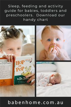 A handy guide to help parents meet their child'a sleep, eat and play needs at months 0-3, 4-6, 7-11 and years 1-2, 3-5. #babenhome #babysleep #toddlersleep #parenting #sleepschedule Parents Meeting, Baby Sleep Schedule, Toddler Sleep, Natural Sleep, Toddler Preschool, Parenting, Activities, Play, Children