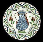 Bonhams : An Iznik pottery Dish Turkey, 17th Century