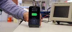 Aparelho promete carregar celular em 30 segundos: http://glo.bo/1hmdEZ1