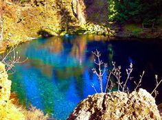 The Blue Pool Is One Amazing Place In Oregon You Need To See For Yourself  Images courtesy of Amanda Cairns | Other Sources: Travel Oregon / Bend Wild