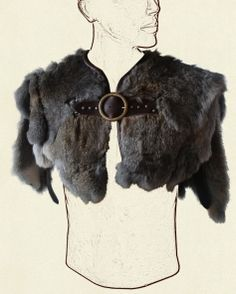 Fur mantle