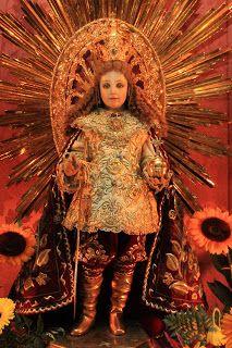 Patron of Barrio Kamestisuhan - the Santo Nino de Malolos. (Photo courtesy of Roy de Guzman)