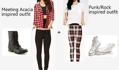 cute acacia outfits