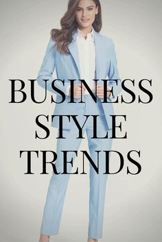 When working in a corporate environment there is not much variety to your outfits; a lot of women find it difficult to find room to style their business suits in different ways. We'll help and show you how to change your business suit to meet the style demands of a modern working woman.