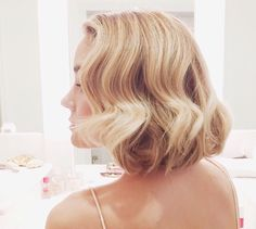 Her hair is always flawless. She's. Always.  Flawless.