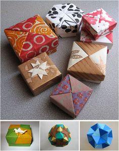 Origami Modular Tomoko Fuse