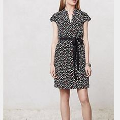Anthropologie Maeve Odilia Sunglass Dress Adorable Print. Great Condition. Anthropologie Dresses