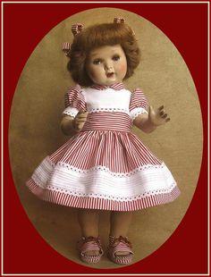 Muñecas AMAVIB ... Momentos de Mariquita Pérez Pretty Dolls, Vintage Dolls, Flower Girl Dresses, Doll Dresses, Doll Clothes, Little Girls, Disney Princess, Sewing, Knitting