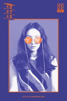 Victoria - f(x), 4 Walls Event Poster Design, Graphic Design Posters, Graphic Design Inspiration, Event Posters, Poster Designs, Movie Posters, Gfx Design, Design Art, Nail Design