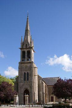 Église St-Yves, à La Poterie. Saint Jean Baptiste, Saint Martin, Chapelle, Notre Dame, Building, Travel, Pottery, Viajes, Buildings