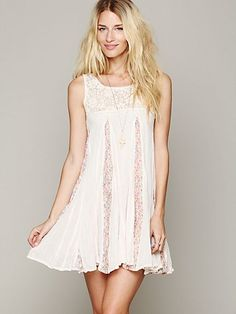 pretty dress by free people