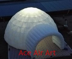 995.00$  Watch now - http://alix1l.worldwells.pw/go.php?t=32345144467 - Fashionable White  Inflatable Lawn Party Tent/ Inflatable Camping Tent/ Inflatable  Igloo Tent With Electric Fan