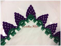 Puntilla para servilleta MRA 24 uvas