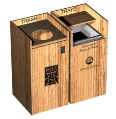 At Soft Touch Furniture, we make custom trash or waste receptacles for restaurants, bars, hotels, hospitality & other commercial establishments.