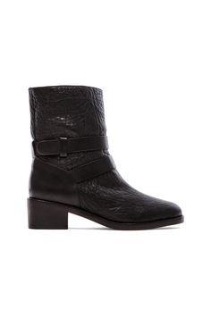 Loeffler Randall Vesper Boot with Shearling Lining in Black | REVOLVE - I can't believe these chic boots are shearling lined.