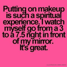 Inner beauty will always be more important, but makeup really means more than some people will ever know