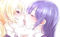 Umi and eri kissing - Google Search