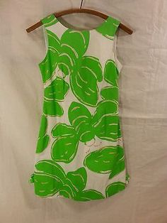 NWT Lilly Pulitzer Delia shift dress Resort White Stinger large glitter size 00