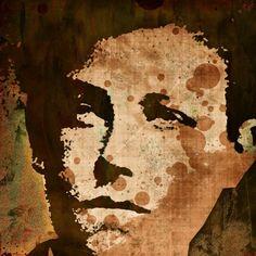 Arthur Rimbaud by Otis Porritt Framed Wall Art, Wall Art Prints, Altered Books Pages, Buy Prints, Printed Cotton, Pop Art, Graffiti, Moose Art, Custom Design