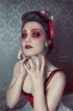 dark makeup - I would do it with purple and black instead of the #Halloween stuffs #Halloween Costume #Halloween clothes