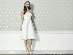 Brautkleid knielang lilly