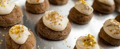 Soft Pumpkin Molasses Cookies with Spiced Mascarpone Whipped Cream | Wisconsin Milk Marketing Board