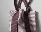 Petit sac cabas violet
