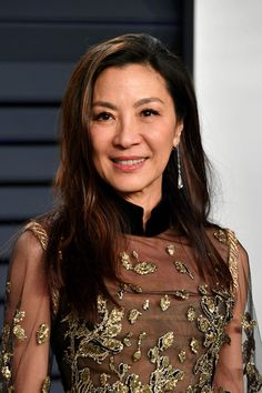 Michelle Yeoh Photos Photos: 2019 Vanity Fair Oscar Party Hosted By Radhika Jones - Arrivals Zabryna Guevara, Richard Dawson, Michelle Yeoh, British Academy Film Awards, Bond Girls, Vanity Fair Oscar Party, Chinese Actress, Host A Party, The Most Beautiful Girl
