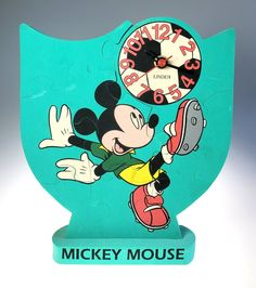 Disney Mickey Mouse Playing Soccer Green Rubber Puzzle Clock | Etsy Mickey Mouse And Friends, Disney Mickey Mouse, Promotion, Vintage Items, Puzzle, Soccer, Hearts, Clock, Gift Ideas