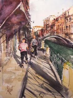 Paintings For Sale, Watercolor Paper, Poland, Venice, Horses, Landscape, Artwork, Portrait, Studio