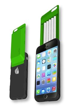 Black on Green iHit 6 Phone Case