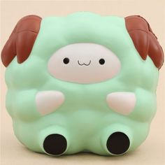 cute green Jumbo Pop Pop Sheep Pat Pat Zoo squishy kawaii