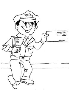 coloring pages of careers - photo#22