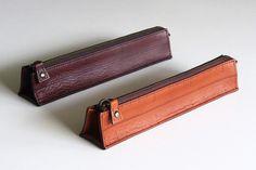Leather Ruler Pencilcase