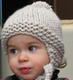 Knitting Toys For Boys Scarfs Ideas - Diy Crafts - Marecipe Crochet Beanie Hat, Beanie Hats, Knit Crochet, Crochet Hats, Knitted Hats Kids, Kids Hats, Baby Pom Pom Hat, Baby Knitting Patterns, Knitting Toys