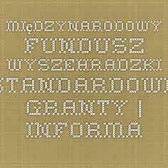 Międzynarodowy Fundusz Wyszehradzki - Standardowe Granty | Informacja europejska dla młodzieży