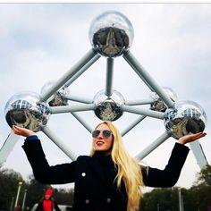 Atomium Bruselas no Instagram • Fotos e vídeos Couple Photography, Photography Ideas, Dream Come True, Belgium, Amsterdam, Trips, Road Trip, Around The Worlds, Photos