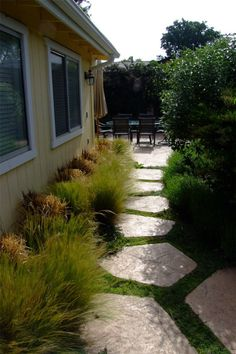 Lovely Side Yard Pathway