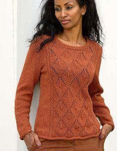 Silky Wool – 'Devin' Sweater | Knitting Fever Yarns & Euro Yarns